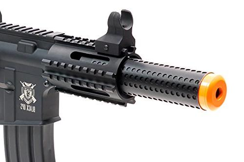 Black Ops AEG Rifle - Fully Automatic Airsoft - Upgradeable and Internals .25