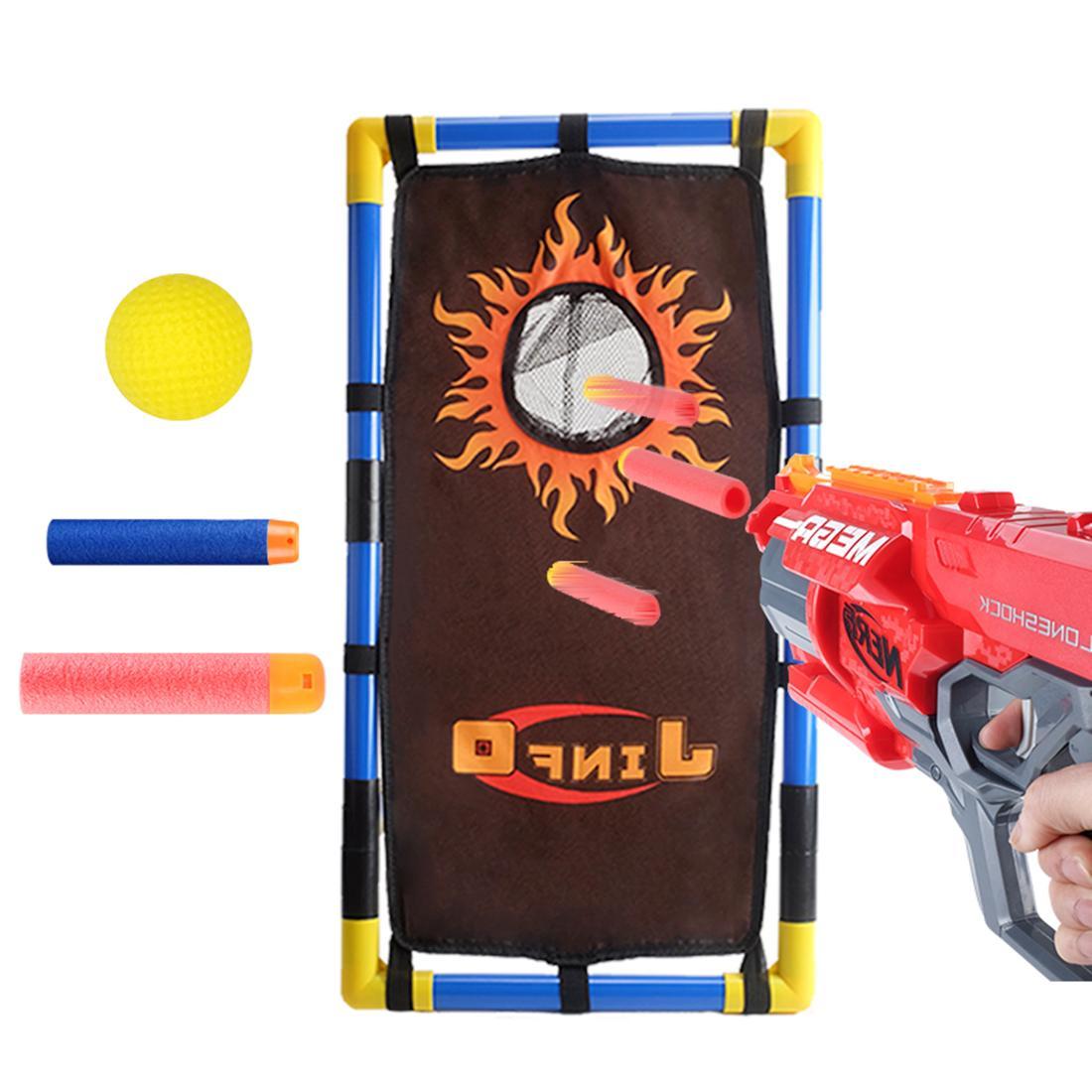 Stand Scoring Aim Target Frame <font><b>Nerf</b></font> Funny Toys Tactical Soft Foam Shot/Sucker Shot Shooting