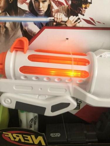 Star Wars Stormtrooper Dart Blaster Gun Lights Sounds
