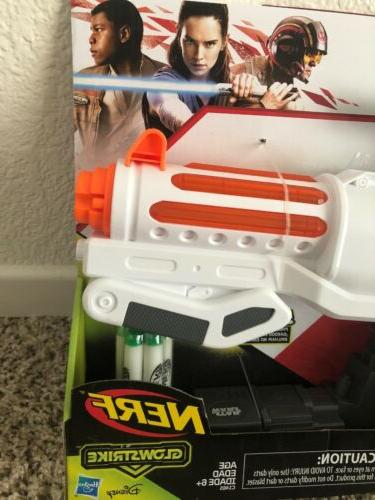 Star First Stormtrooper Nerf Dart Blaster Gun Lights Sounds