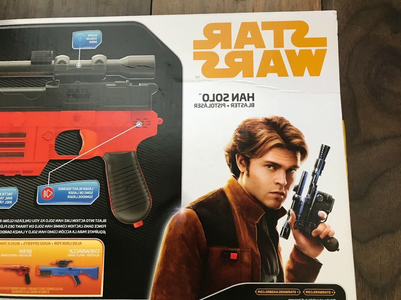 STAR NERF Lot 2 HAN Pistols NEW