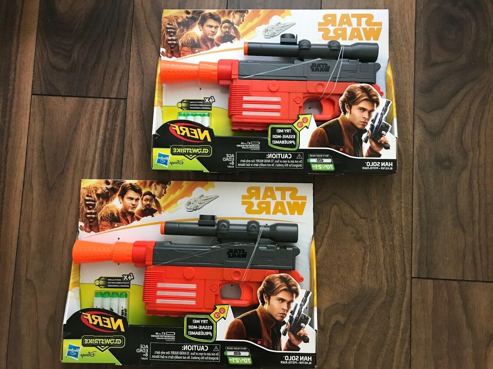 star wars nerf guns lot x 2