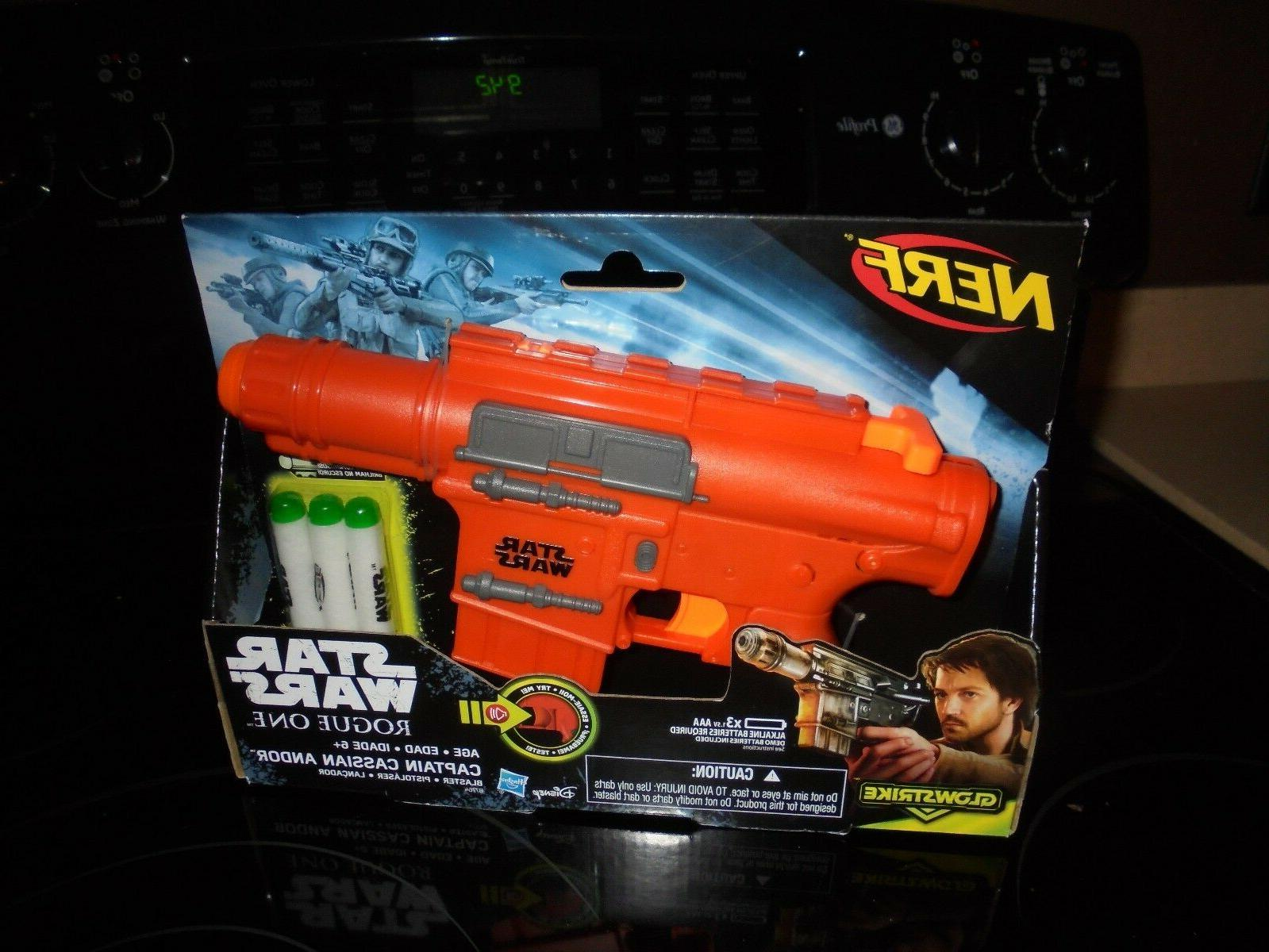 star wars nerf rogue one captain cassian