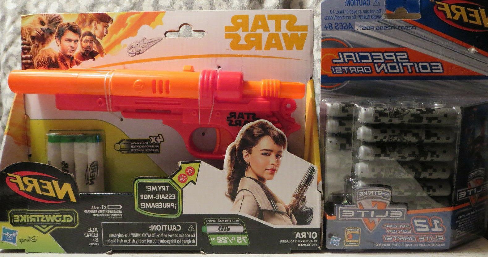 star wars qi ra solo glowstrikeblaster gun
