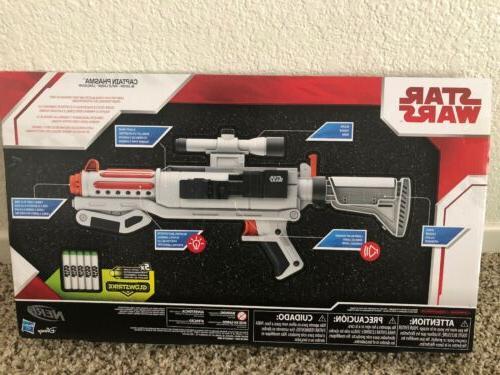 Star Nerf Toy Dart Blaster Rifle