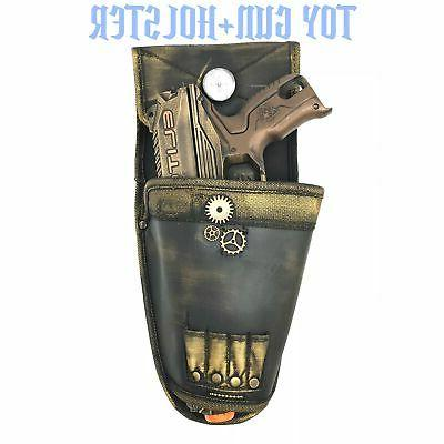 Steampunk Toy Holster Nerf Cosplay Soft Darts