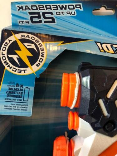 Nerf Motorized Water Gun To Squirt