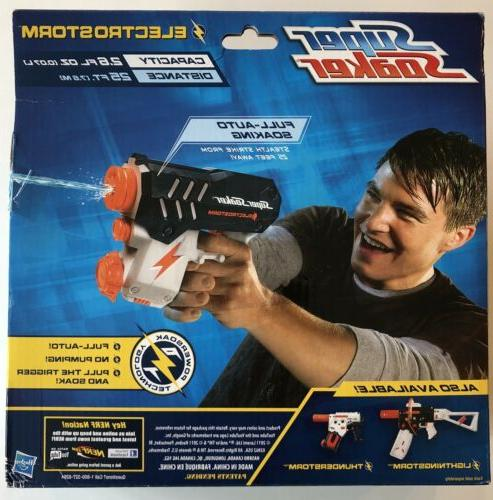 Nerf Super Motorized Water To 25ft! Squirt