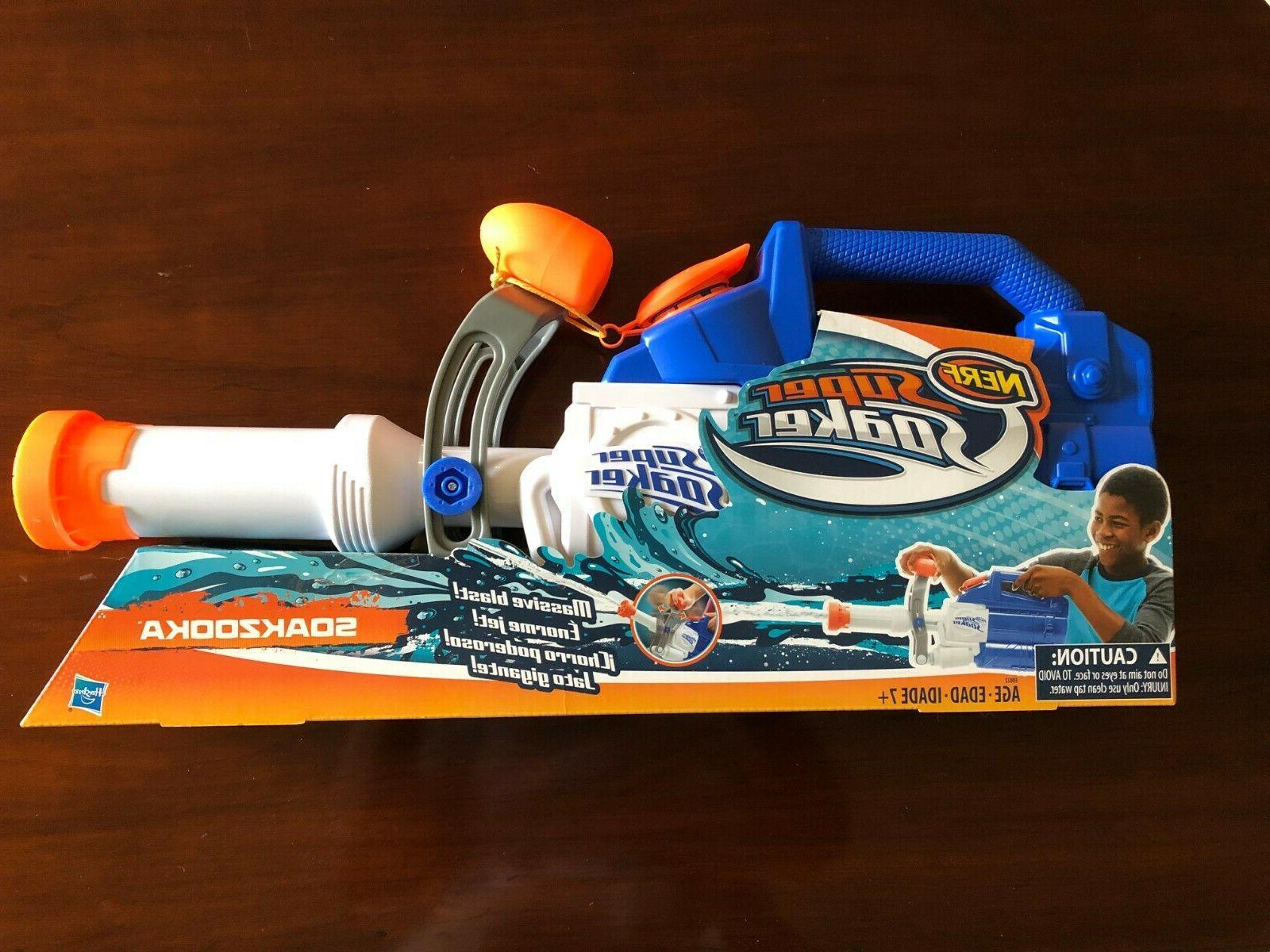 super soaker soakzooka water gun blaster brand