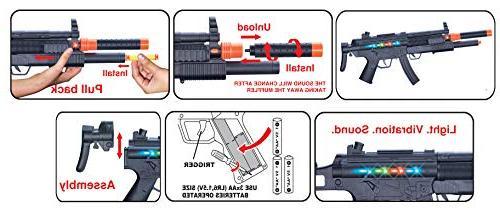 Liberty SWAT Special Forces MP5 SMG Gun Dart Launcher | Darts