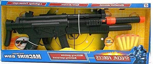 Liberty Imports Forces Gun Electric Dart Lights, and 12 Darts