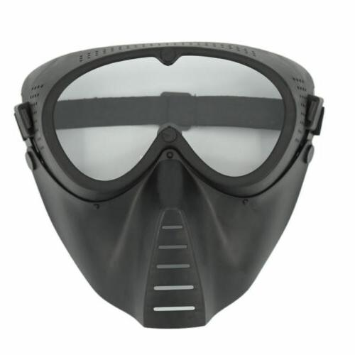 tactical face protective mask for nerf n