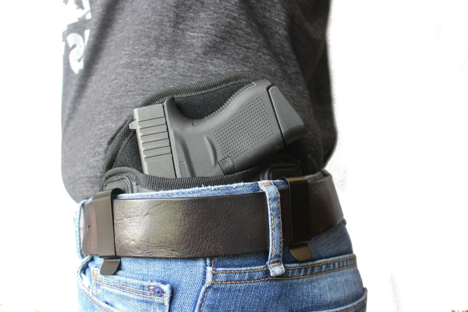 IWB Gun Holster Houston Leather Model