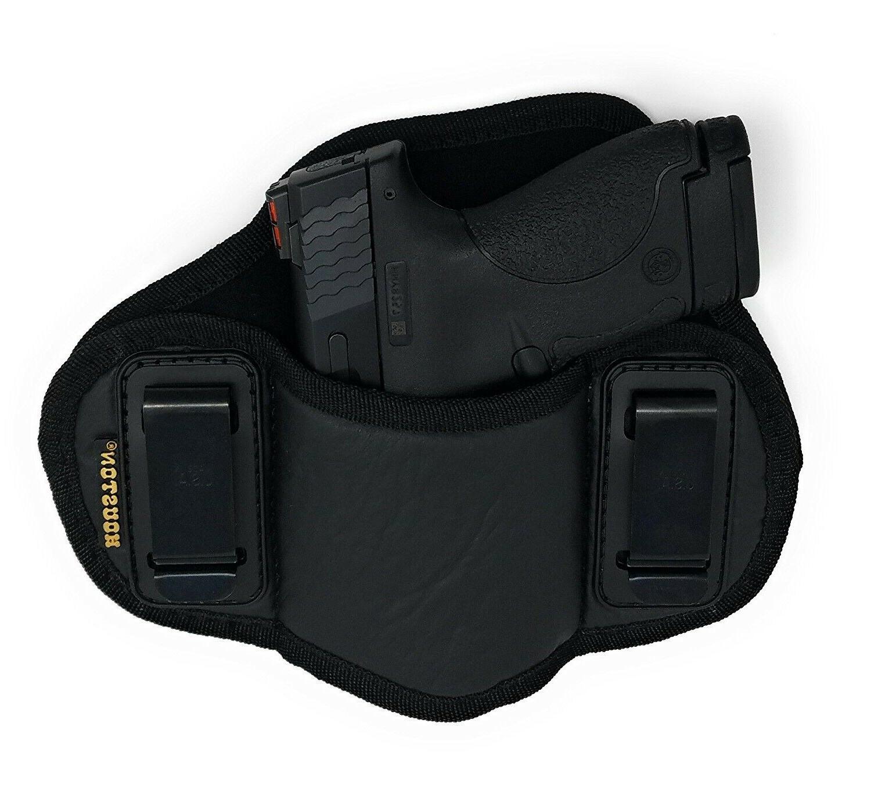 Tactical Pancake IWB Gun Holster Leather - Choose