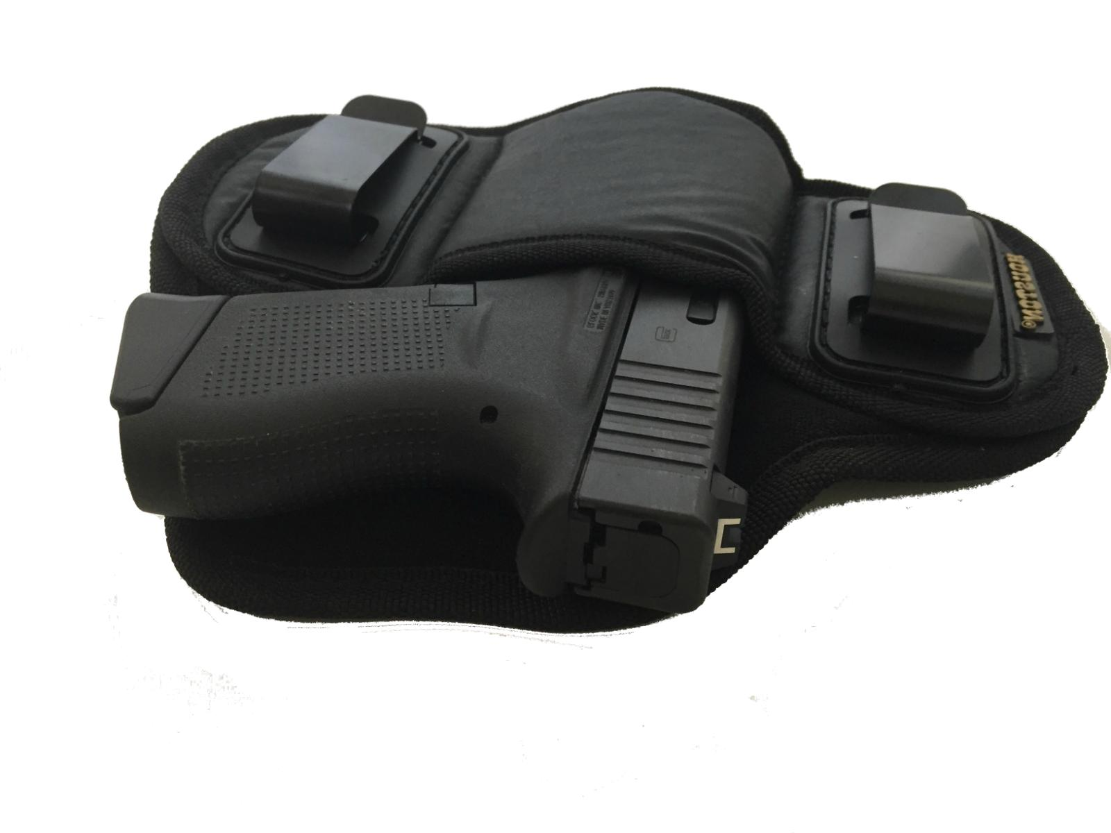Tactical Pancake Concealed Carry IWB Gun Holster Houston Leather Choose