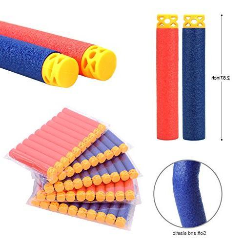Forliver Vest Kit, Kids Elite Tactical Vest N-strike Elite Series 50 Refill Darts 2 Face Tube Mask + Protective