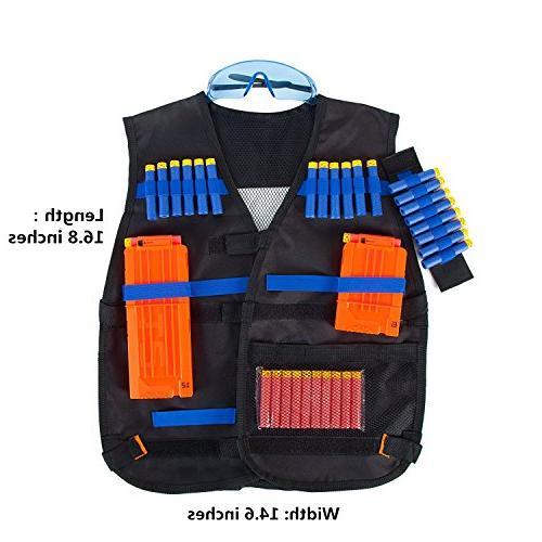 Tactical for N-Strike Foam Darts for
