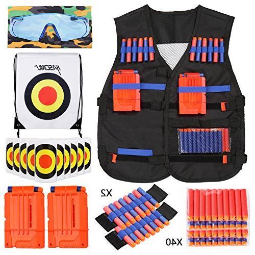 KASCIMU Vest for Elite Series Nerf Gun Accessories
