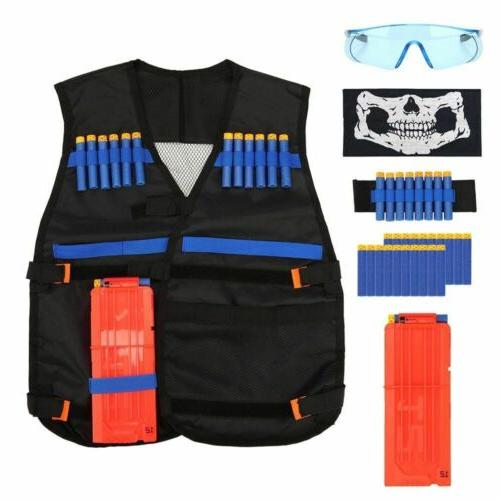 Tactical Nerf Guns Boys Strike Elite Foam Darts Kids