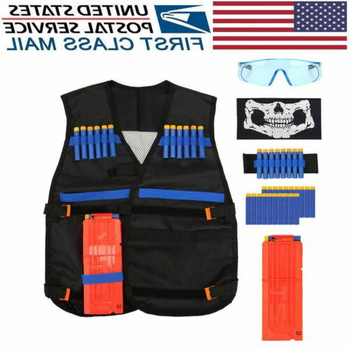 tactical vest kit for nerf guns boys