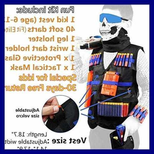 Tactical Nerf Guns Boys N Strike Elite Foam Darts