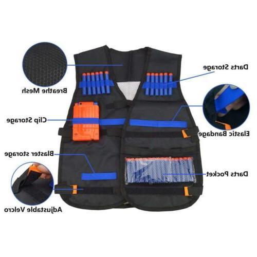 UWANTME Tactical Vest for Nerf Guns Elite