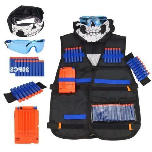 tactical vest kit for nerf guns n