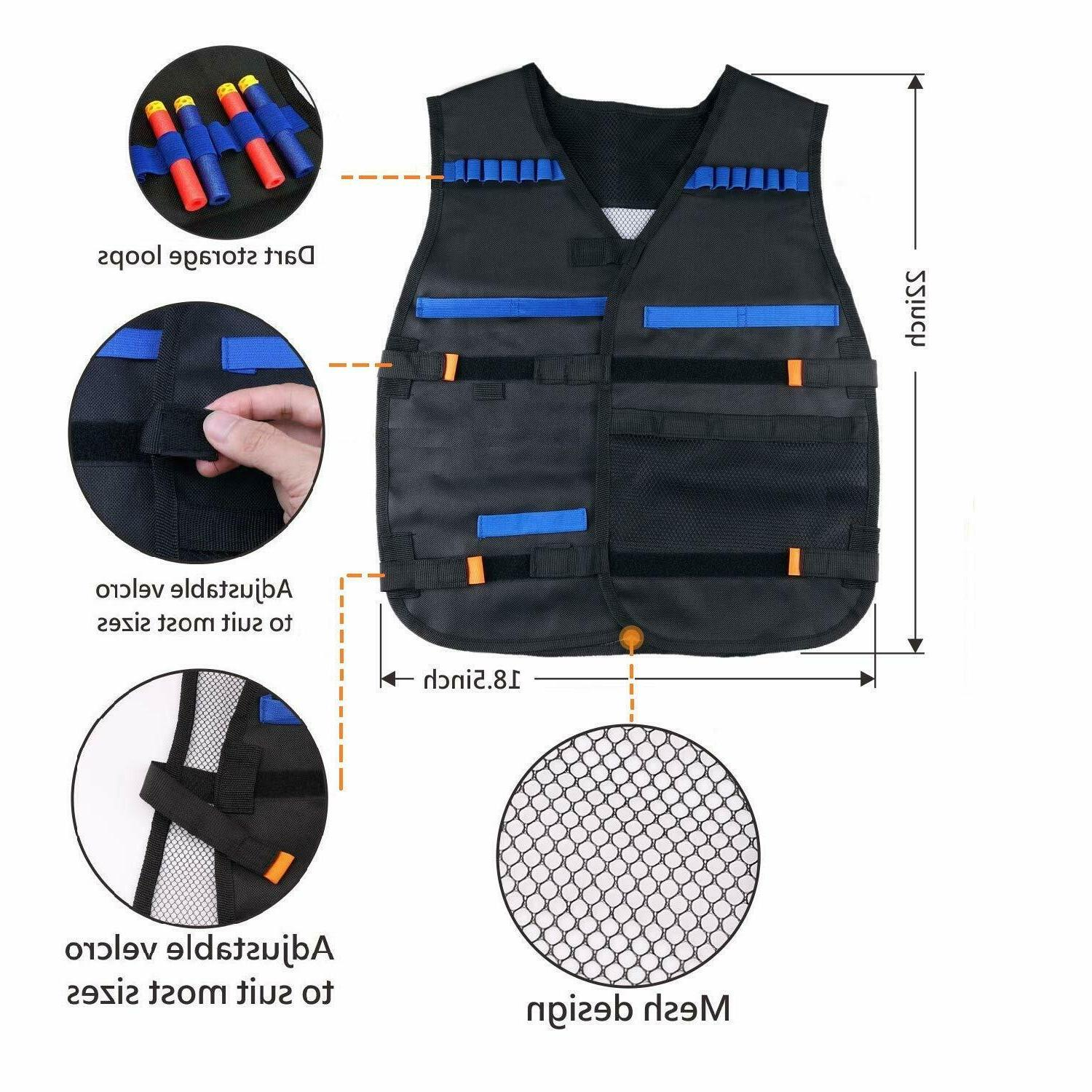 Tactical Kit Nerf Bullets Series