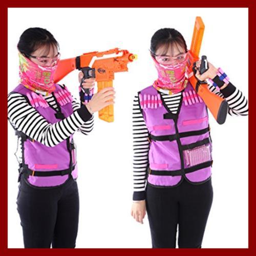 Tactical Vest Girls Nerf Guns N Strike W 60