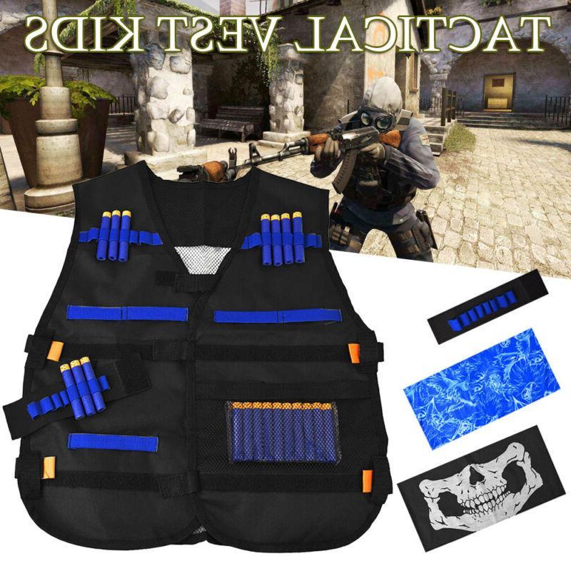 tactical vest suit kit for nerf guns