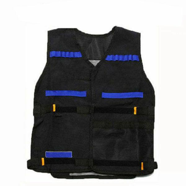 Tactical Vest Kids Gun Clip Bullet Holder For Nerf