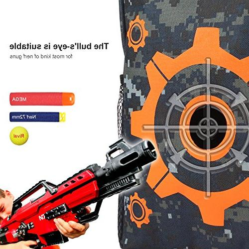 UWANTME Target Carry Equipment with 2PCS N-Strike Elite / Rival