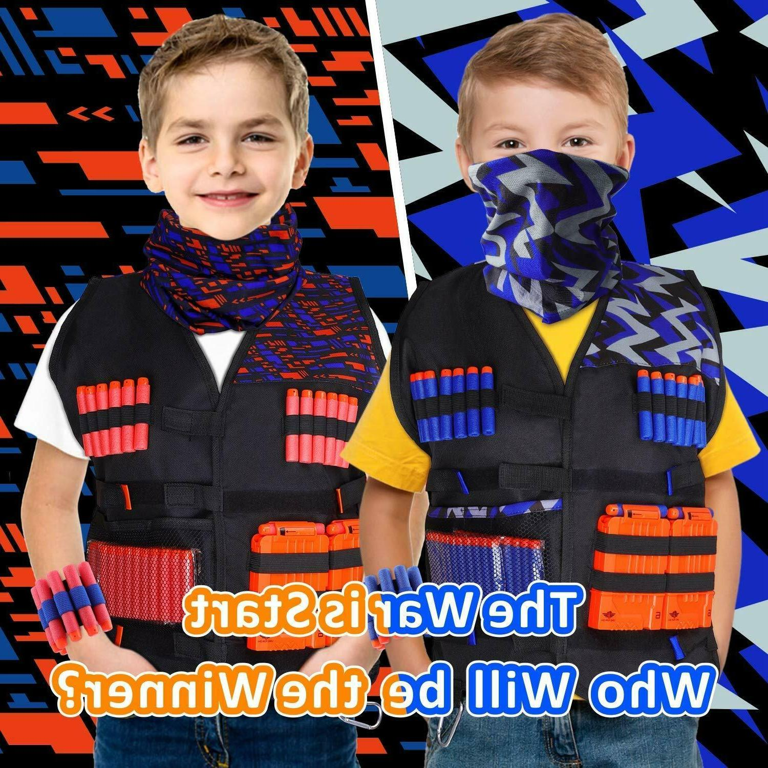 UWANTME 2 Kids Tactical Nerf Series