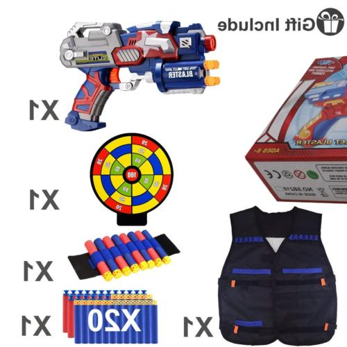 POKONBOY Nerf Guns - Gun and Tactical with and