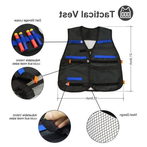 POKONBOY Vest Nerf - Gun with and