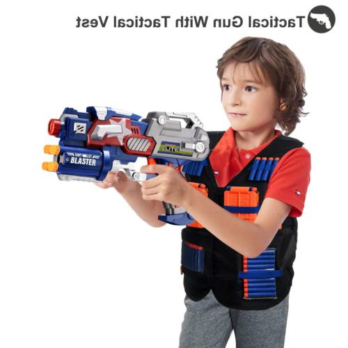 POKONBOY Vest Compatible with Nerf - Gun and with
