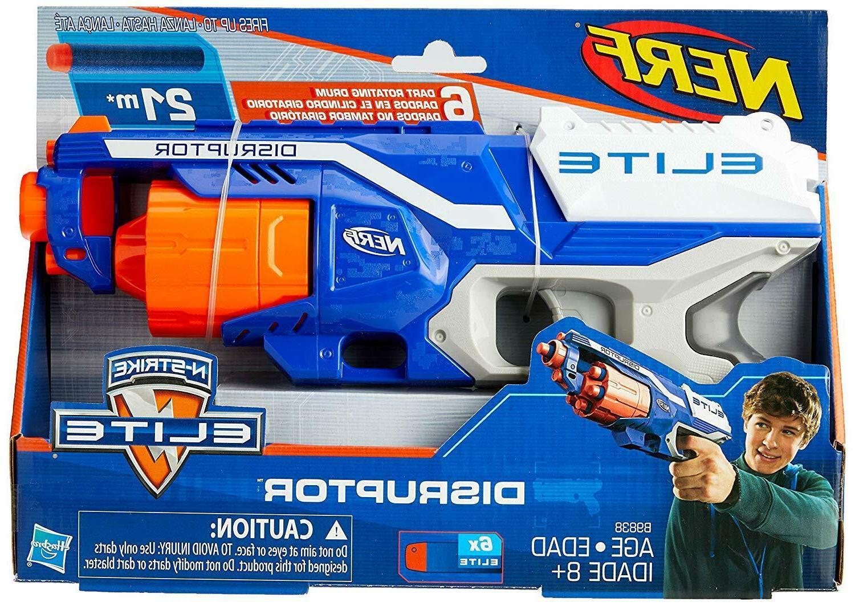 Nerf Strongarm Elite Dart Gun Blasters Darts