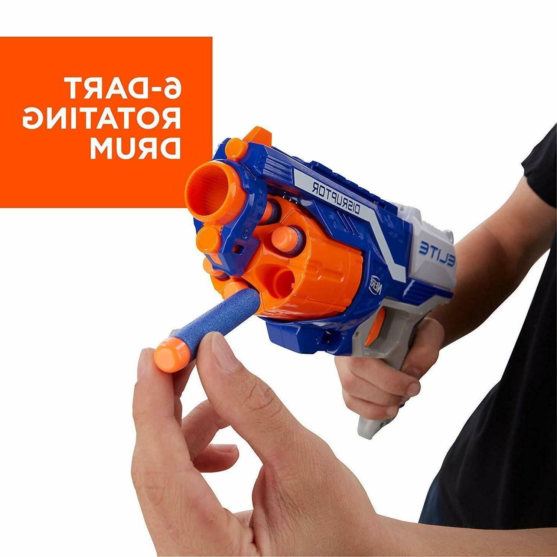 Nerf N Elite Blaster Dart Gun Blasters Darts
