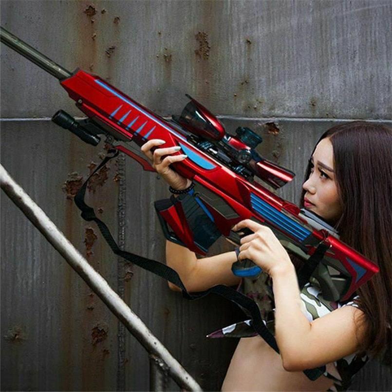 Nerf Gun Plastic Infrared Water Bullet Pistol Boys