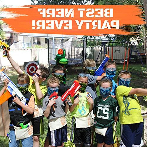 for 8 for Nerf Party, Family Holders, Eye Safety Glasses