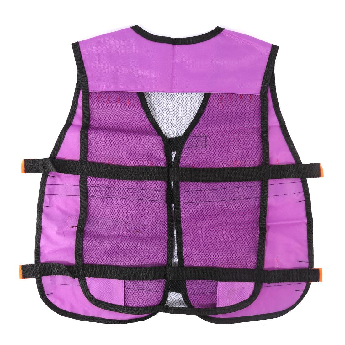 Women Gift Soft Tactical Darts Waistcoat for <font><b>Nerf</b></font> Defense for CS Games Equipment- Purple