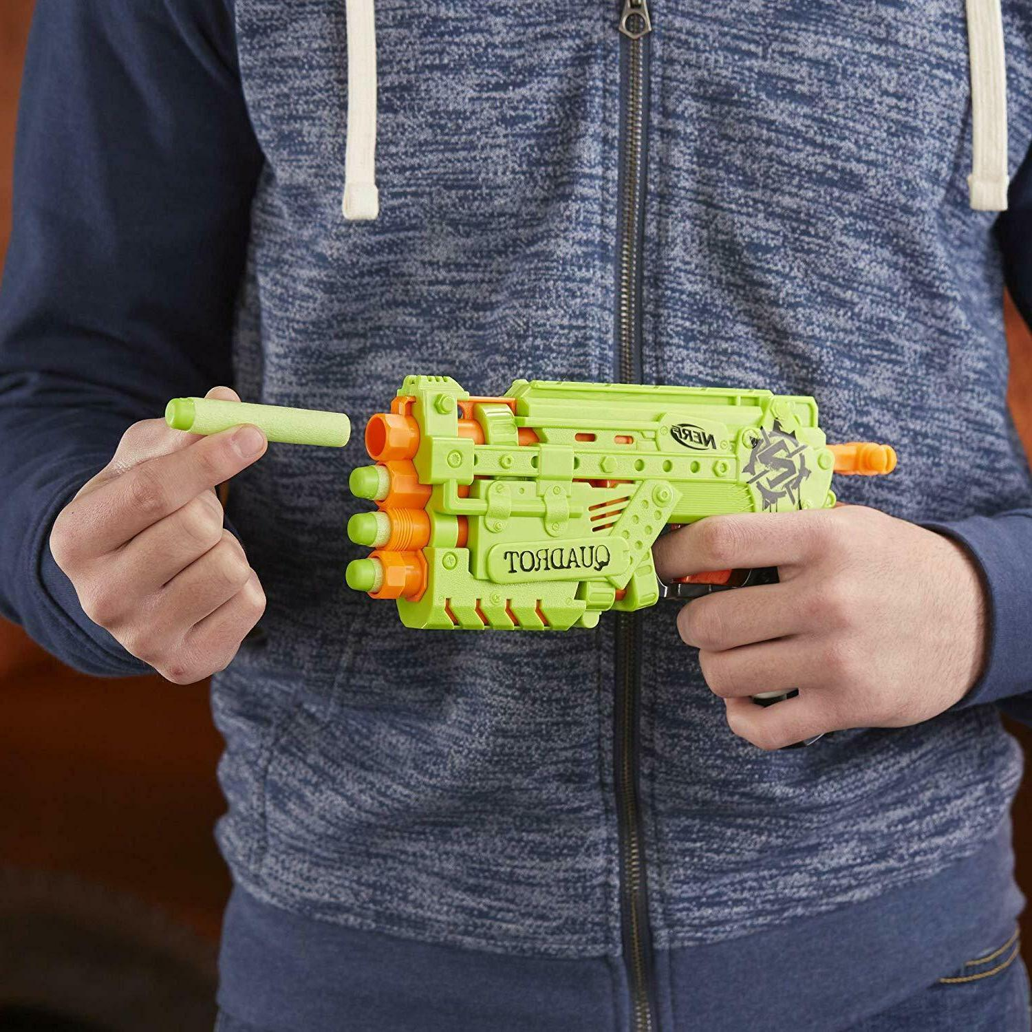 Nerf Zombie Strike Blaster Gun Rifle Adults Toy Dart Xmas