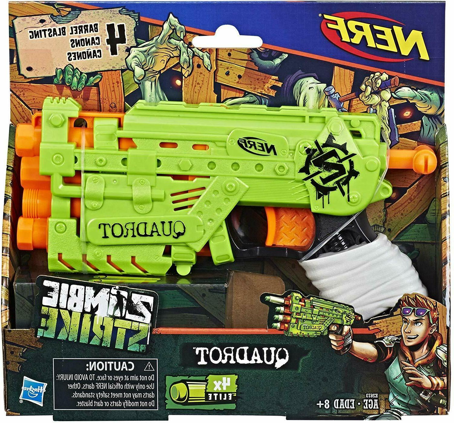 Nerf Quadrot Guns For Zombie Strike For