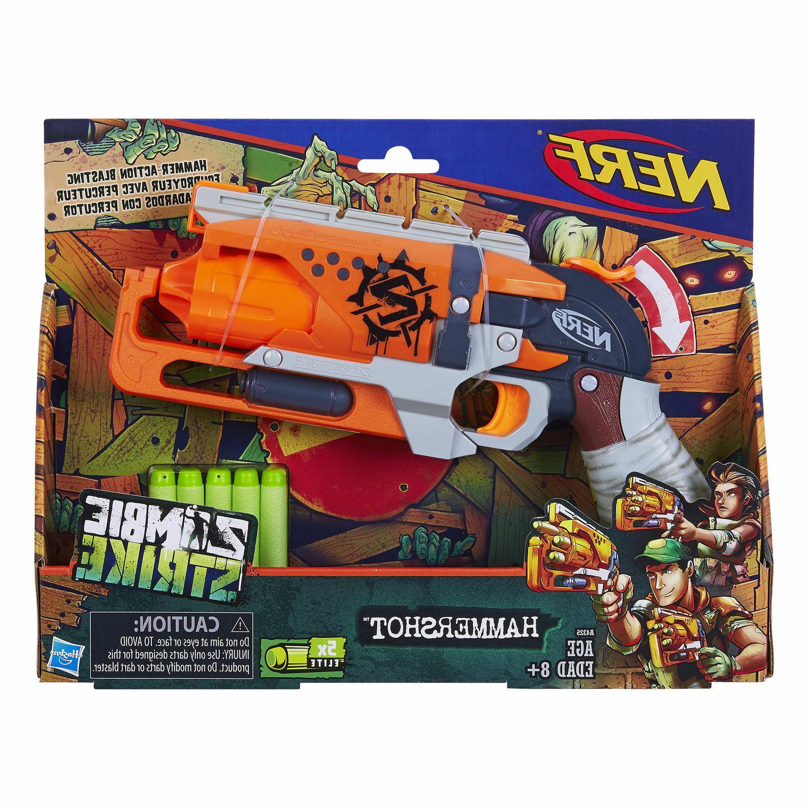 zombie strike hammershot blaster gun pistol toy