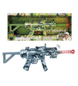 Mozlly Light Up & Sounds Military Combat Force Camouflage Ma