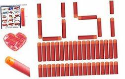 Little Valentine 120 Pcs Mega Dart Refill Pack for N-Strike