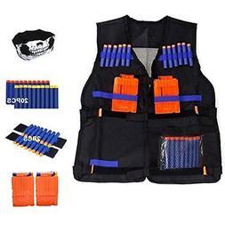 Little Valentine Elite Tactical Vest Kit For Nerf N-strike S