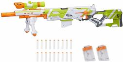 Longstrike Nerf Modulus Toy Blaster with Barrel Extension, B