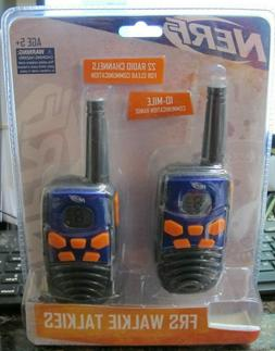 Lot of 4 10 Mile Camping Hiking Nerf  Walkie Talkie 37756 Ki