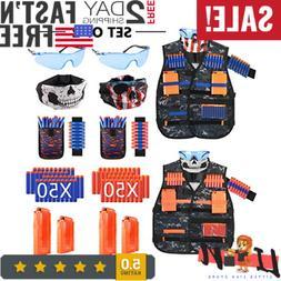 MIBOTE  Kids Tactical Vest Kit for Nerf Guns N-Strike Elite